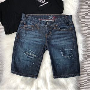 🌵4/$20 Gap Distressed Bermuda Shorts {1}